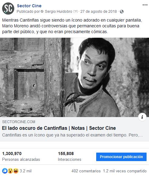 El lado oscuro de Cantinflas